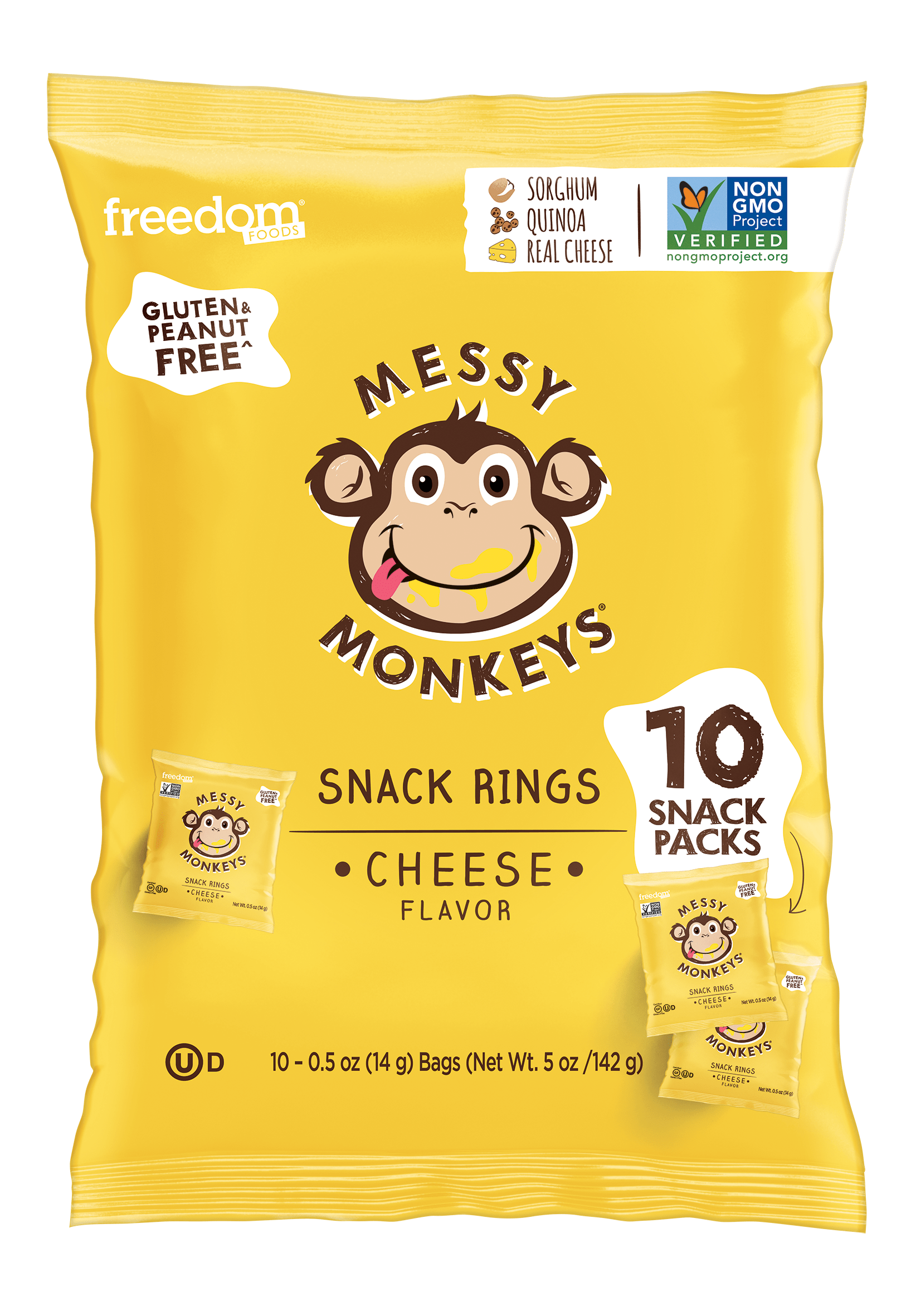 MESSY MONKEYS CHEESE FLAVOR