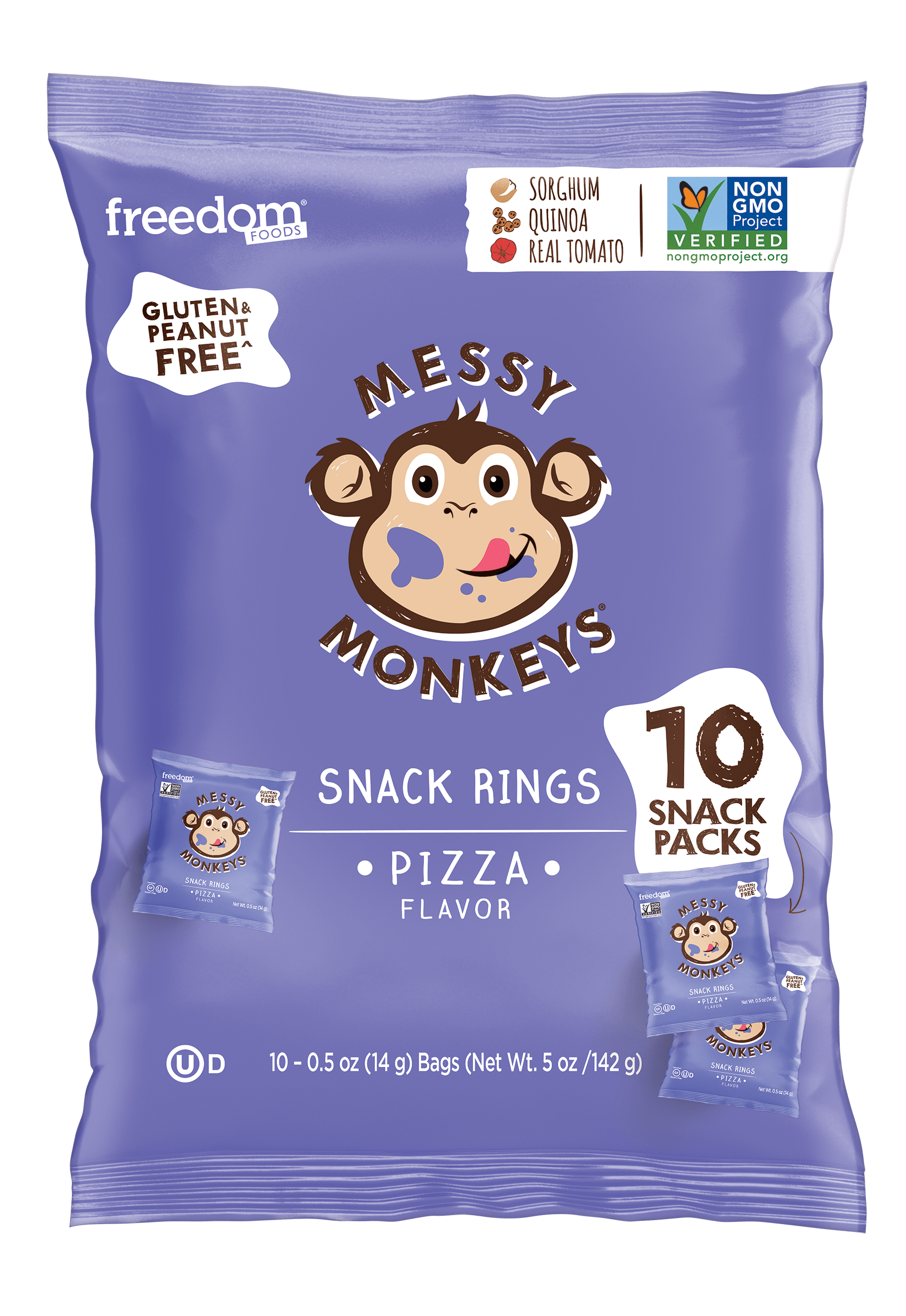 MESSY MONKEYS PIZZA FLAVOR